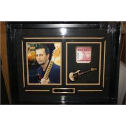 174: Framed Eric Clapton Collage