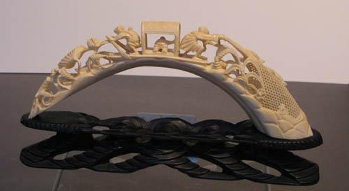 Carved Ivory Tusks