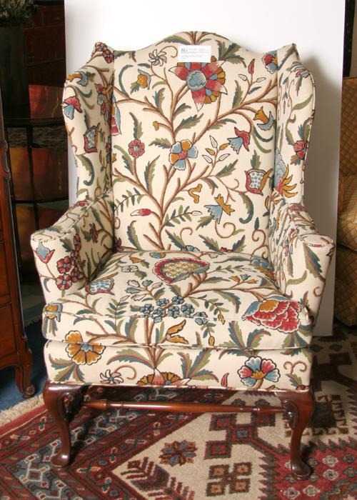 Southwood Chippendale Wing Chair