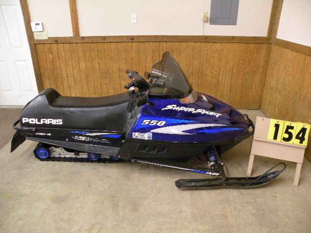 2000 Polaris 550 Supersport Fan