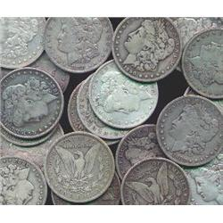 Lot of 6 Morgan Silver Dollars-