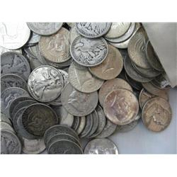 Lot of 50 90% Silver Half Dollars