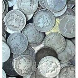 Lot of 10 Morgan Silver Dollars