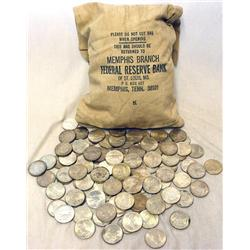 Lot of 50 Peace Silver Dollars-