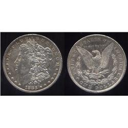 1883-O Morgan Silver Dollar- UNC-