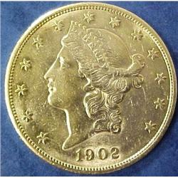 Gold Double Eagle US $ 20 Coin