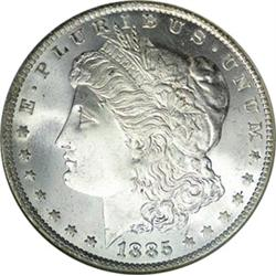 1885-O Morgan Dollar Uncirculated Condition