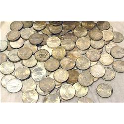 Lot of 60 Peace SIlver Dollars