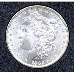 1882-CC Morgan Silver Dollar - In GSA Holder