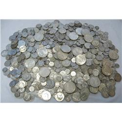 Huge Lot of 90% Silver!!!  1000 Face Value!
