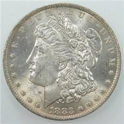 1883 BU Morgan Silver Dollar- Frosty!