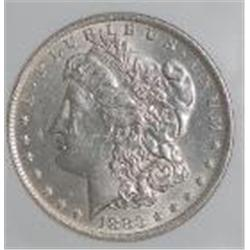 1883 BU Morgan Silver Dollar- MS-60-63 or Better!