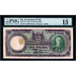 Government of Fiji, 1937-51 Issue.