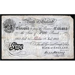 Bank of England, 1918 London Issue.