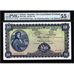 Central Bank of Ireland Banknote, 1961-63 Issue.