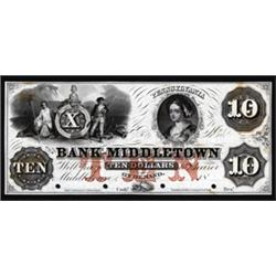 Pennsylvania. Bank of Middletown Obsolete Proof Note.