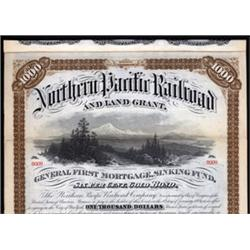 Northern Pacific Railroad and Land Grant