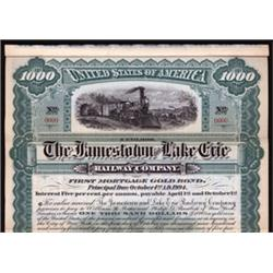 Jamestown and Lake Eire Railway Company