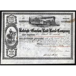 Raleigh and Gaston Rail-Road Company