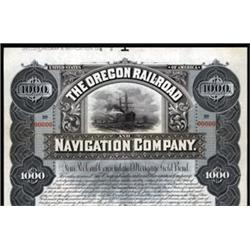 Oregon Railroad and Navigation Company.