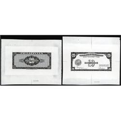 Central Bank of the Philippines Proof Banknotes.