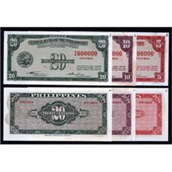 Central Bank of the Philippines Specimen Banknote Group.