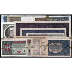 Polish Banknote Assortment