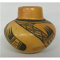1960s Hopi Traditional Jar By Corinne Ami