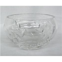 Cut Crystal Glass Bowl