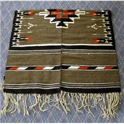Vintage Mexican Wool Poncho