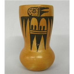 1960s Hopi Traditional Pottery Jar By Corinne Ami