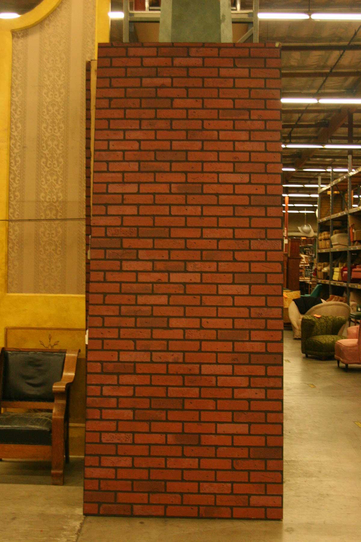 Brick Wall Panels : Foot long faux brick wall panel