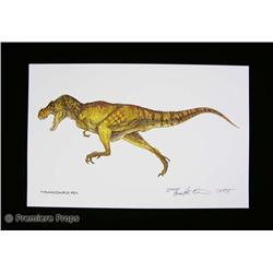 Jurassic Park Lithographic Prints