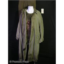 Armored Homeless Witness (Nick Jameson) Bloody Movie Costumes
