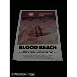 Blood Beach One Sheet Movie Poster