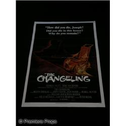 The Changeling One Sheet Movie Poster