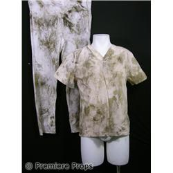 Halloween II Scary Hospital Patient Scrubs Movie Costumes