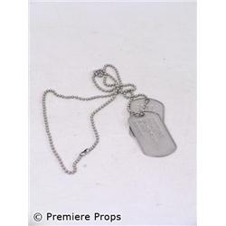 The Gift Donnie (Keanu Reeves) Dog Tags Movie Props