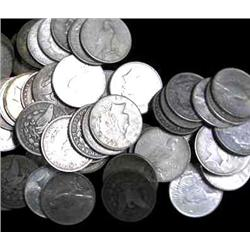 Lot of 100 US MINTED PRE 1935 Silver Dollars
