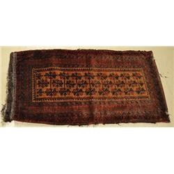 An Antique Persian Baluch Wool Saddle bag.