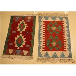 A Pair of Turkish Kilim Rugs.