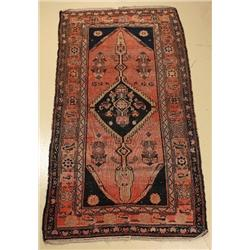 An Antique Persian Malayer Wool Rug.