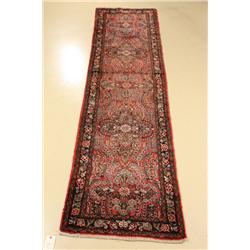 An Antique Persian Dargazine Wool Runner.