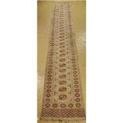 A Bokhara Pakistani Wool Runner.