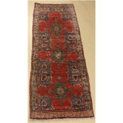 An Antique Turkish Anatolia Wool Runner.