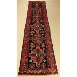 A North Western Persian Malayer Wool Runner.