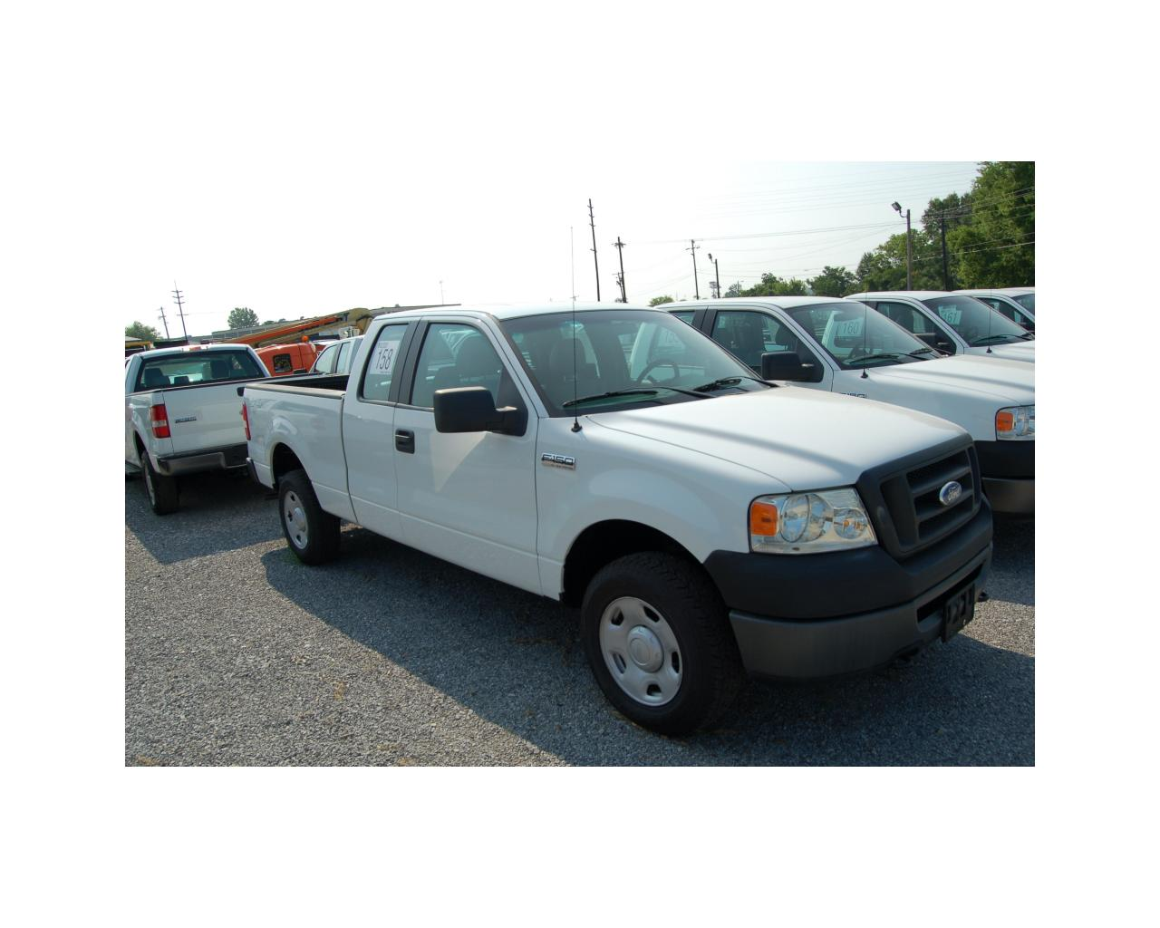 2006 ford f150 extended cab 4x4 pickup j m wood auction company inc. Black Bedroom Furniture Sets. Home Design Ideas