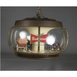 Vintage Budweiser Carousel Clydesdale Light