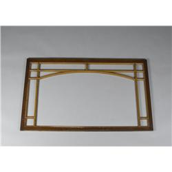 Two-Tone Painted Arts & Crafts Frame in Oak