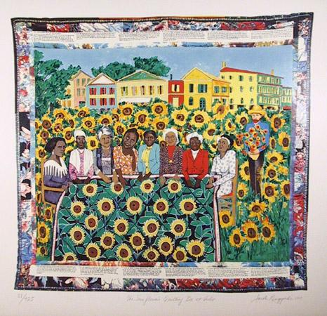 Step 1 - Introducing the Faith Ringgold Slideshow Guide
